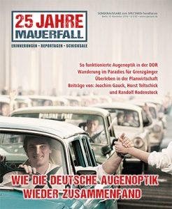 25 Jahre Mauerfall - Deutsche Augenoptik